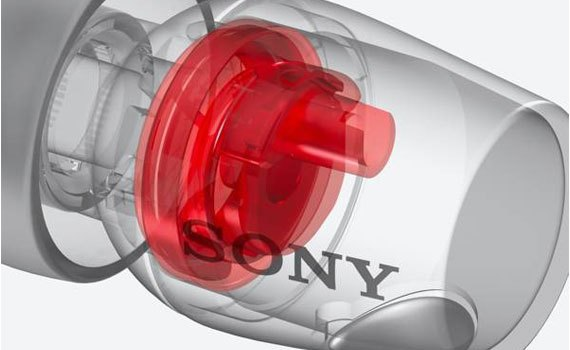 Tai nghe Sony MDREX750AP màng loa nhạy cao