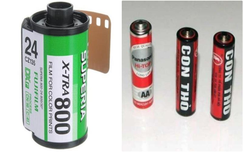 Tiết kiệm một khoản nhỏ khi có thể tái sử dụng phim chụp ảnh và bảo quản được pin lâu hơn