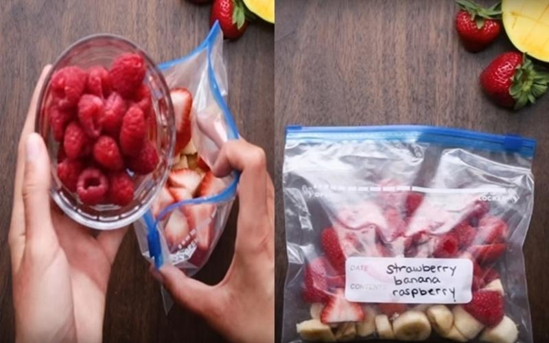 Thanh lọc cơ thể với sinh tố trong tủ lạnh