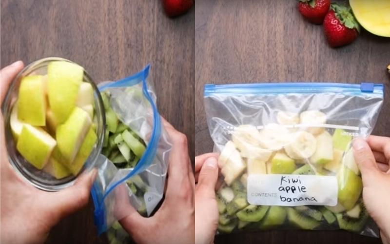Thanh lọc cơ thể ngày Tết bằng sinh tố có trong tủ lạnh