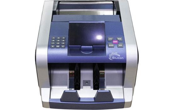 Máy đếm tiền Silicon MC-2300 đếm được tiền giấy, polime và ngoại tệ