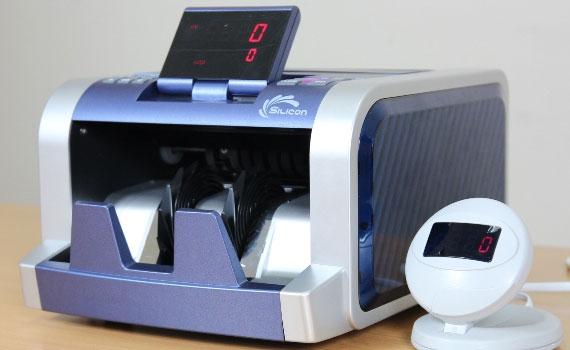 Máy đếm tiền Silicon MC-2300 sang trọng, thời trang
