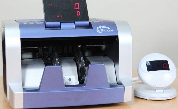 Rút ngắn thời gian công việc cùng máy đếm tiền Silicon MC-2300
