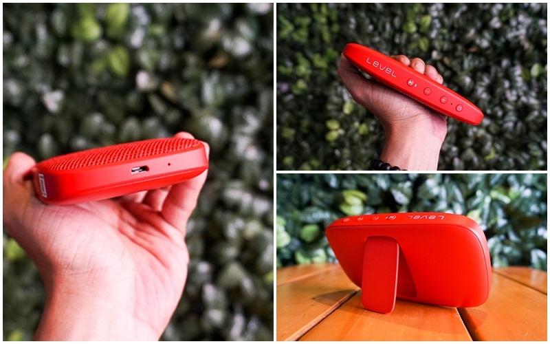 Loa bluetooth Samsung Level Box Slim có thiết kế mỏng, nhẹ dễ mang đi mọi nơi