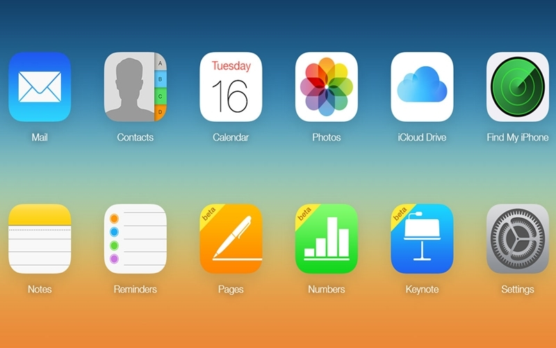 Biểu tượng Find My iPhone trên màn hình điện thoại
