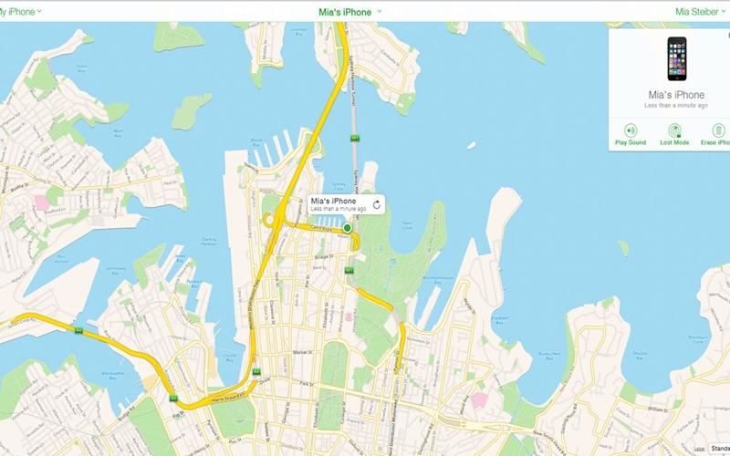 Theo dõi iPhone của bạn trên bản đồ