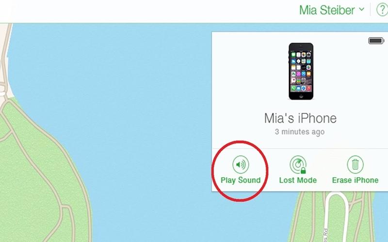 Đặt chế độ Play Sound cho smartphone