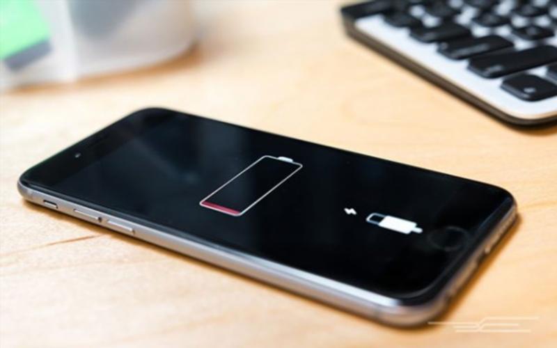 Thời lượng pin của thiết bị được hiển thị trên Find My iPhone