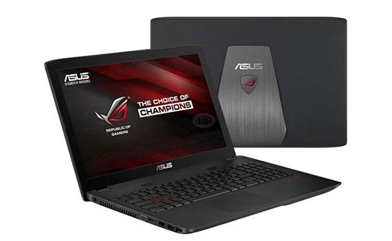 Thiết kế Laptop Asus GL552JX DM144D gọn gàng và đẹp đẽ