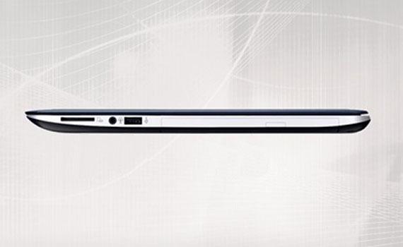 Laptop Asus X555UA XX036D trang bị đầy đủ kết nối