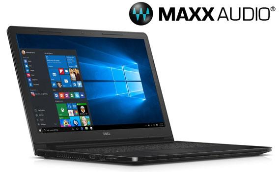 Nghe nhạc hay hơn với máy tính xách tay Dell Inspiron 3552 70072013