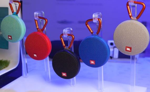 Loa JBL giá tốt. Loa Bluetooth JBL Clip2 xanh ngọc