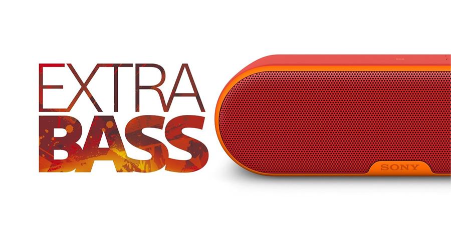 Loa không dây di động Sony SRS-XB2 đỏ giá ưu đãi tại nguyenkim.com