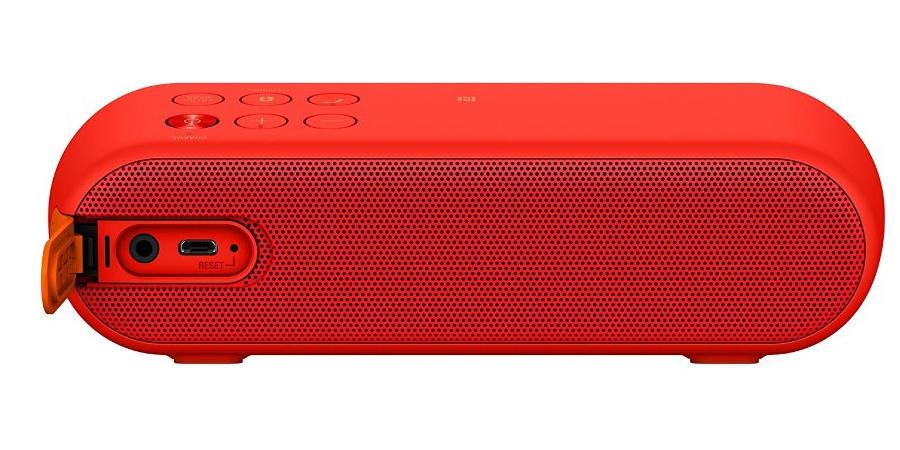 Loa không dây di động Sony SRS-XB2 đỏ có thời lượng pin dài 12 tiếng