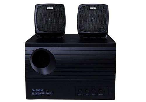 Loa vi tính Soundmax A4000 nhỏ gọn, chắc chắn