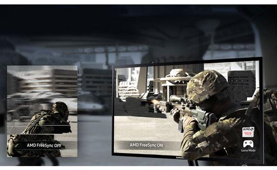 Màn hình vi tính Samsung LS24F350FHEXXV vận hành mượt mà.