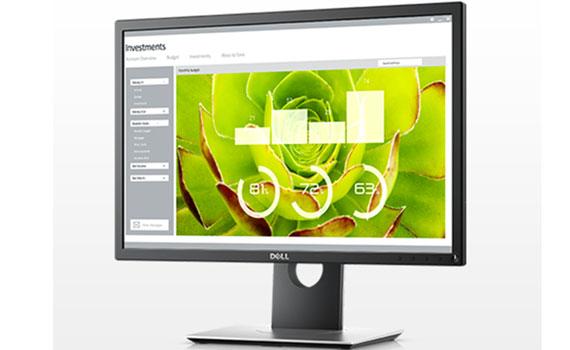 Màn hình LED Dell P2217 góc nhìn rộng 178 độ