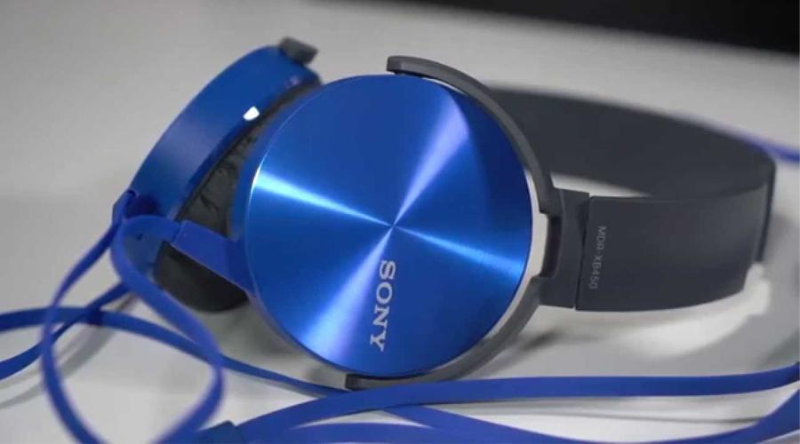 Tai nghe Sony mua ở đâu? Tai nghe Sony MDR-XB450AP xanh