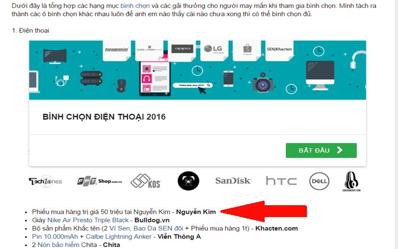 Cơ hội nhận phiếu mua hàng 50 triệu đồng từ Nguyễn Kim