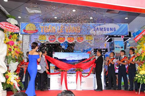 Tuần lễ vàng Samsung ưu đãi đặc biệt tại Nguyễn Kim