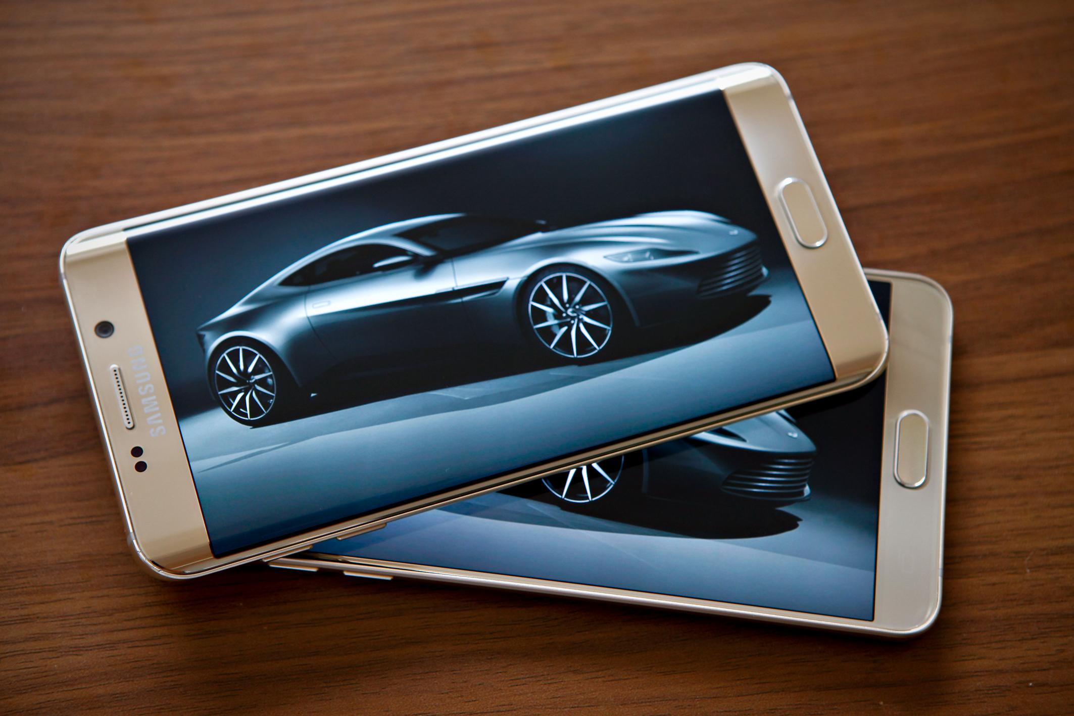 Diện mạo Galaxy S6 Edge Plus và Note 5 phong cách