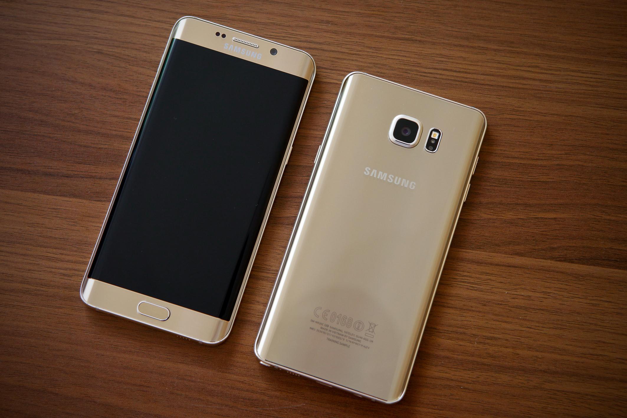 Diện mạo Galaxy S6 Edge Plus và Note 5 khác nhau như thế nào