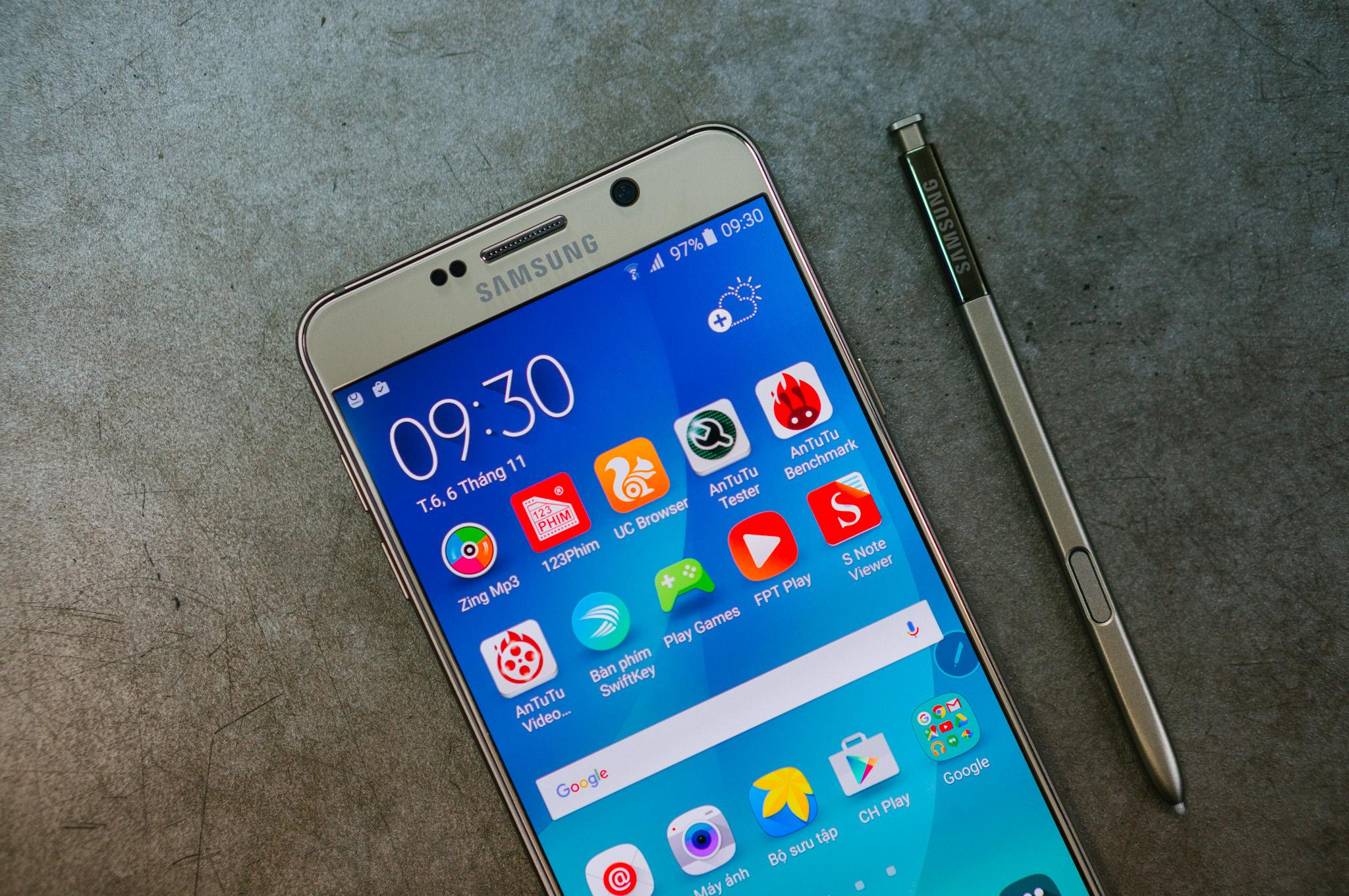 Samsung Galaxy Note 5 đẳng cấp