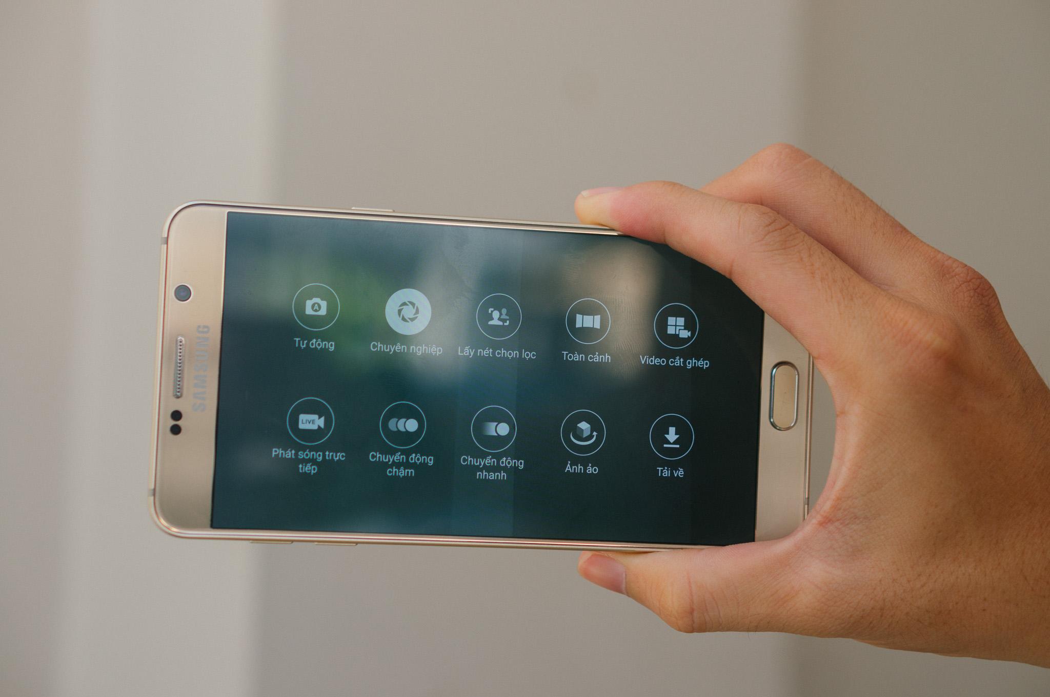 Samsung Galaxy Note 5 camera ấn tượng