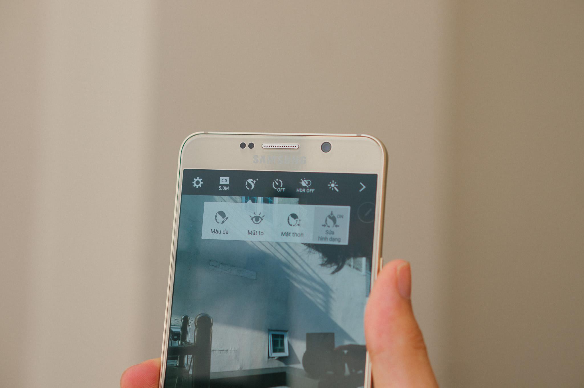 Samsung Galaxy Note 5 camera siêu đỉnh
