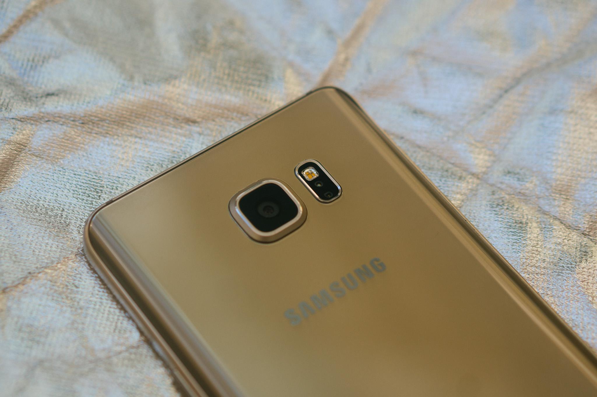 Samsung Galaxy Note 5 camera mới lạ