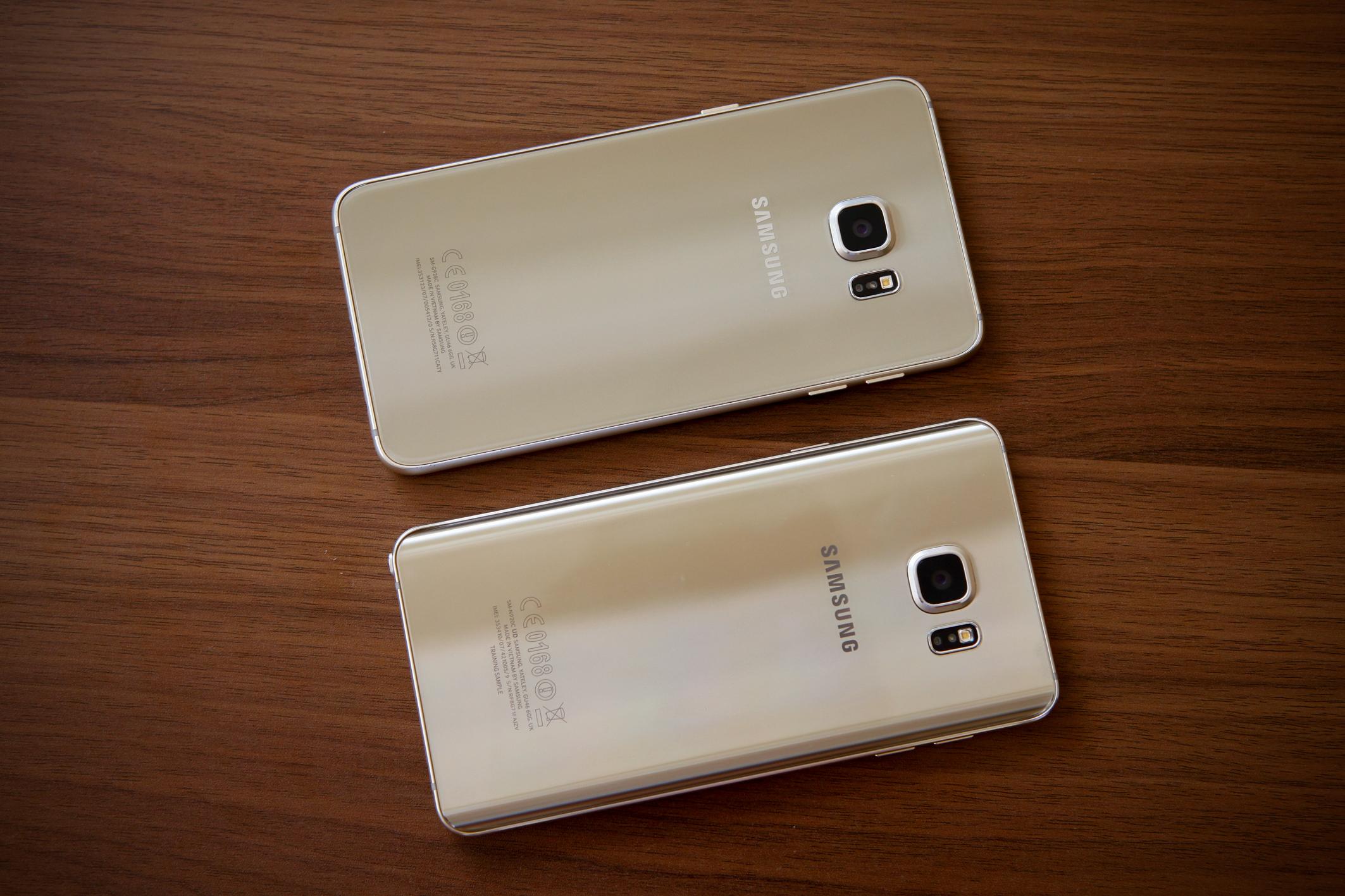 Diện mạo Galaxy S6 Edge Plus và Note 5 khác biệt đầy ấn tượng
