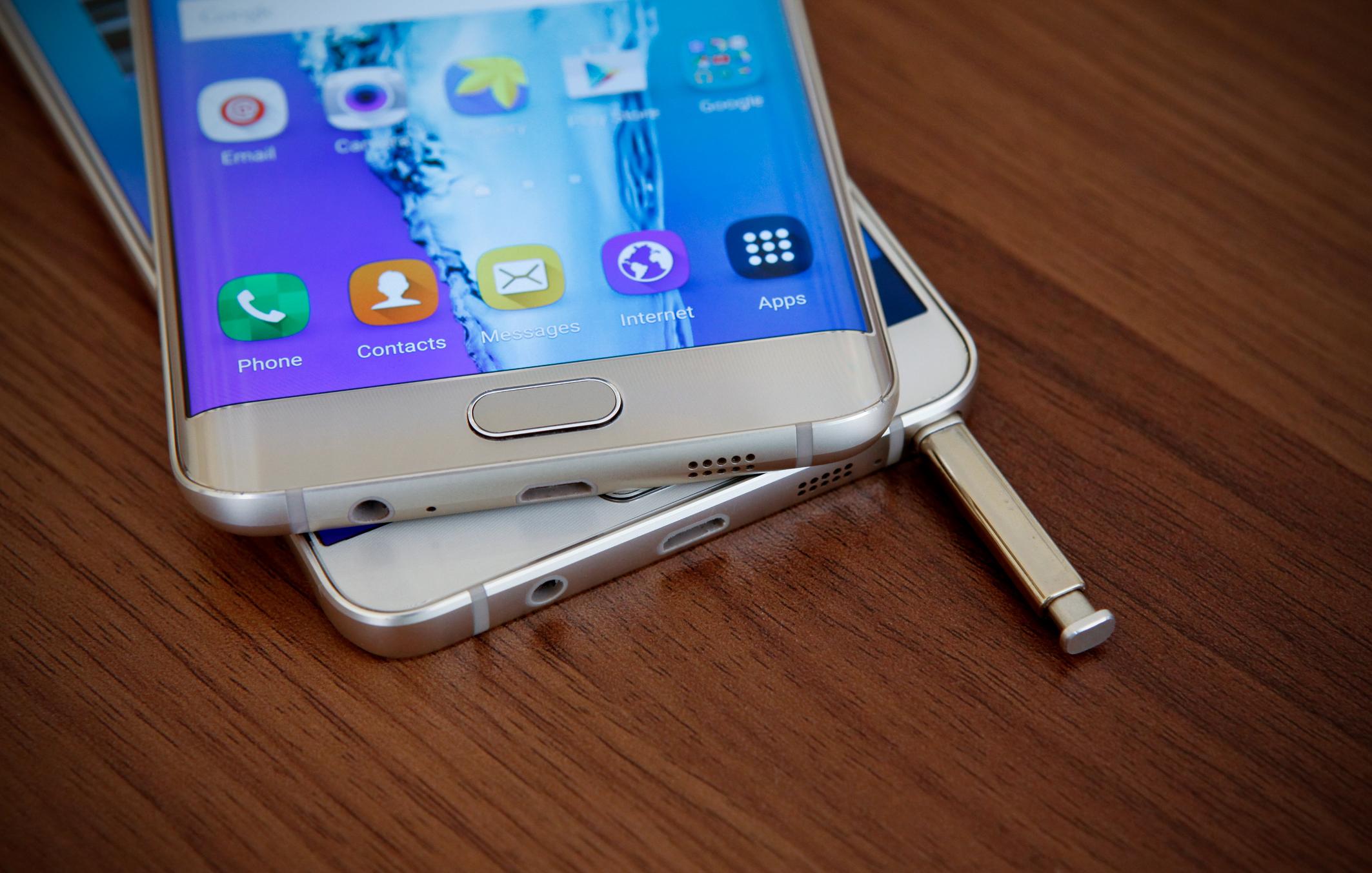 Diện mạo Galaxy S6 Edge Plus và Note 5 đẳng cấp