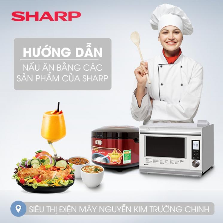 sản phẩm gia dụng Sharp giảm giá lớn