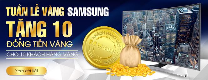 Sản phẩm điện tử giảm gái lớn tuần lễ vàng Samsung