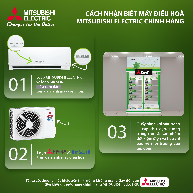cách chọn mua máy lạnh Mitsubishi chính hãng