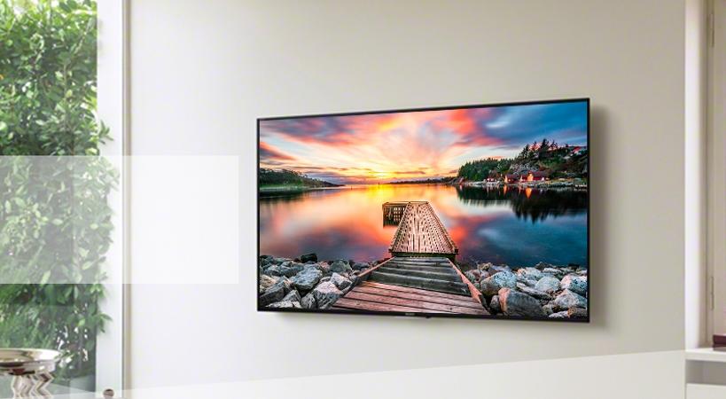 Tivi LCD Sony KDL-48W650D trang bị màn hình 40 inches Full HD