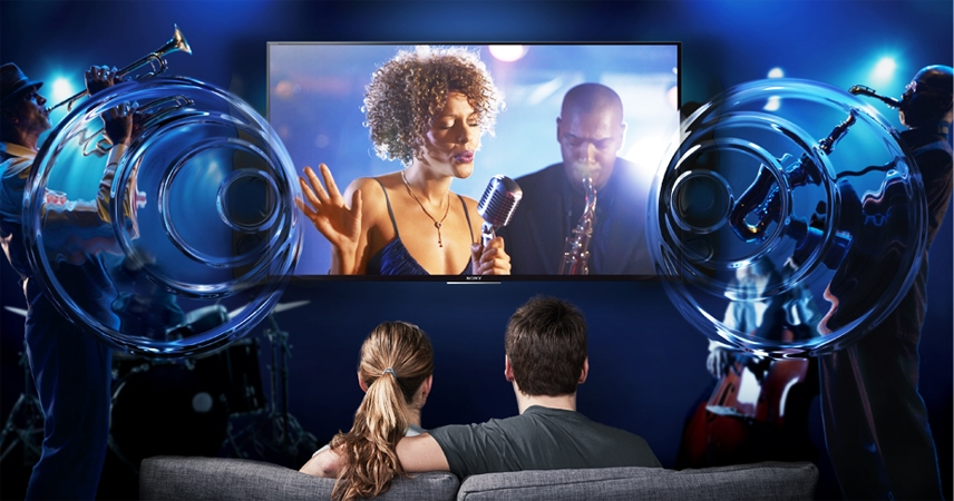 Tivi LCD Sony KDL-48W650D cho âm thanh sống động