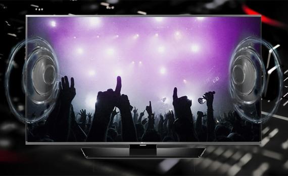 Tivi Internet Panasonic TH-32DS500V âm thanh mạnh mẽ