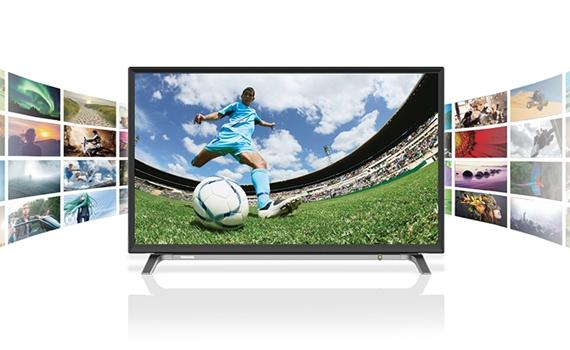 Tivi Toshiba 43 inches 43L3650VN ghi lại nội dung yêu thích