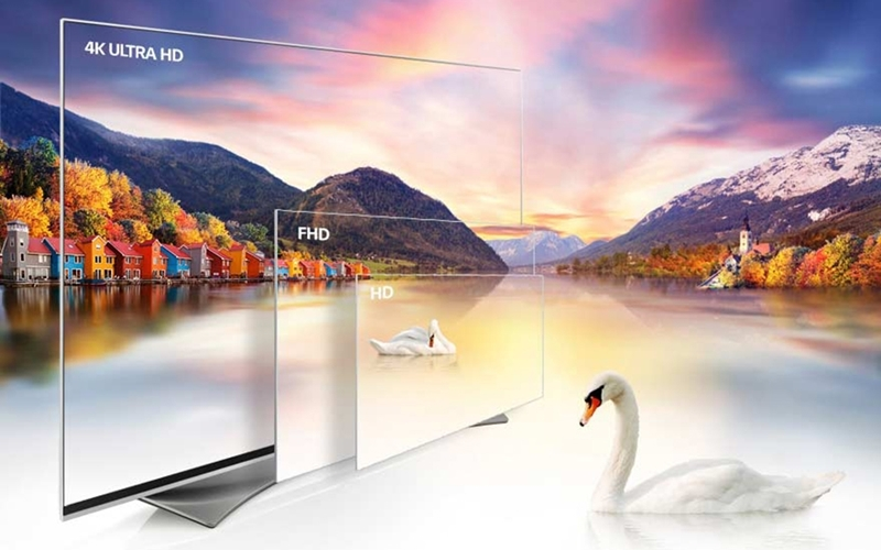 Tivi màn hình chuẩn 4K mang đến trải nghiệm tầm cao mới