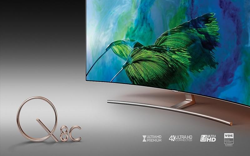 Tivi Samsung QLED UHD mang trong mình thiết kế tinh tế và đầy sang trọng