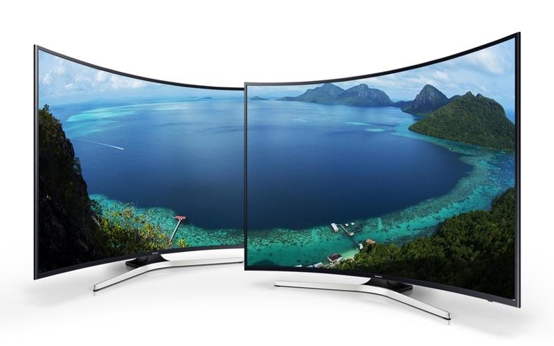 Tầm nhìn rộng hơn với tivi màn hình cong