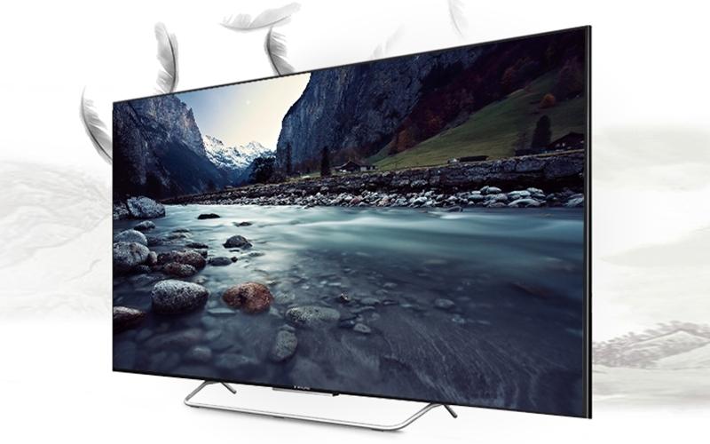 Tivi Sony với thiết kế sang chảnh, màn hình siêu mỏng