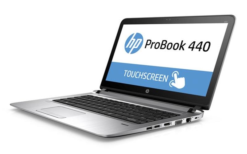 Được trang bị công nghệ chống lóa, HP Probook 440-G3 thoải mái sử dụng cả ngày