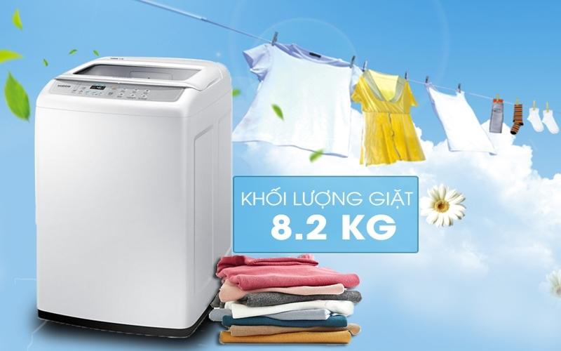 Được tích hợp 6 chương trình giặt tự dộng vô cùng tiện lợi