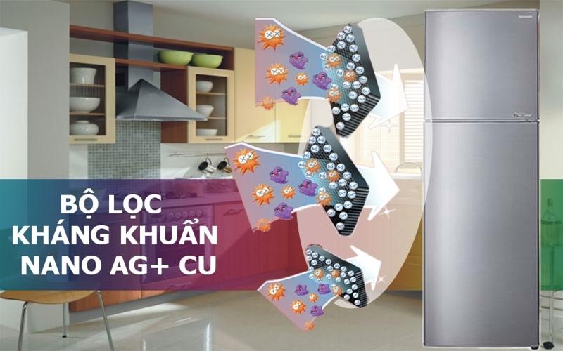 Chiếc tủ sở hữu công nghệ kháng khuẩn Nano Ag+Cu