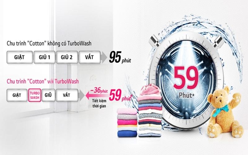 Tiết kiệm thời gian giặt hiệu quả với nhiều chương trình giặt khác nhau