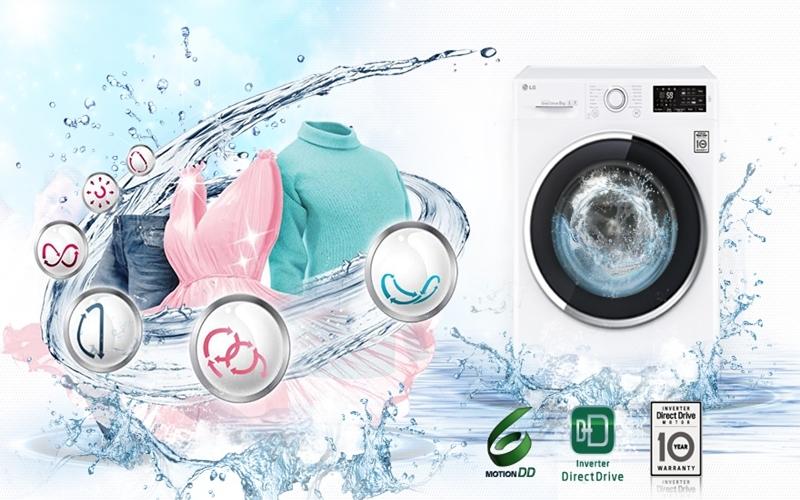 Quần áo của gia đình bạn luôn được giặt sạch sẽ tinh tươm