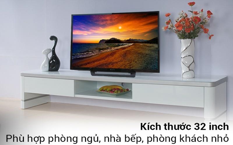 tivi Sony 32R300D có thiết kế sang trọng