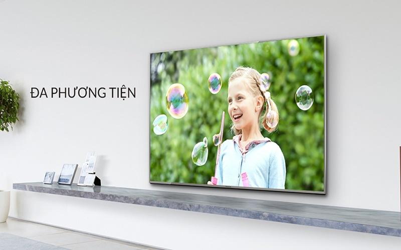 tivi Panasonic có cổng kết nối đa dạng